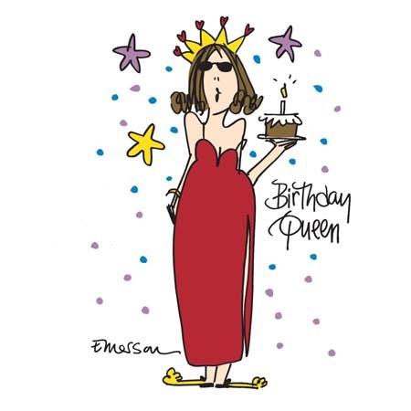 "Emerson Street ""Birthday Queen"" Nightshirt in a Bag"