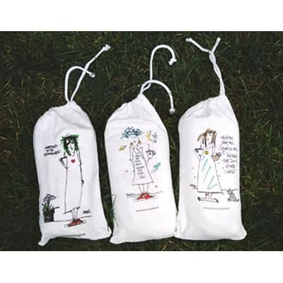 "Emerson Street ""Good Wine, Good Friends, Good Grief!!"" Nightshirt in a Bag"