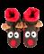 Lazy One Reindeer Woodland Family Slipper